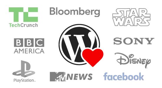 Các website lớn sử dụng WordPress