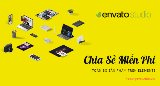 Chia sẻ miễn phí Envato Elements