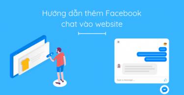 cài đặt facebook messenger vào website