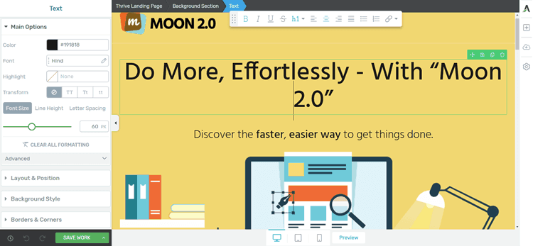 Edit-Text-voi-thrive-architect