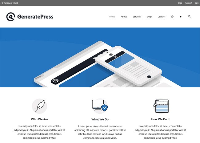 GeneratePress-with-Elementor-pro