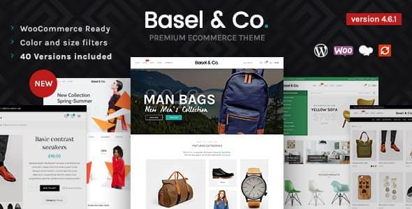 Basel Responsive eCommerce Theme
