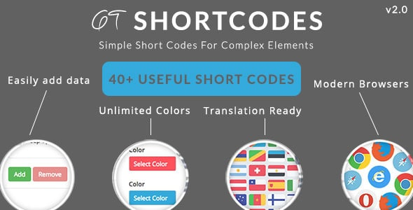 GT ShortCodes