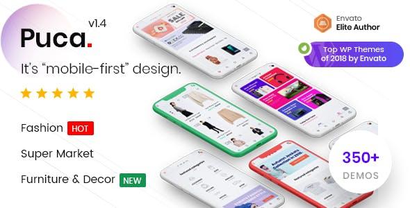 Puca Optimized Mobile WooCommerce Theme