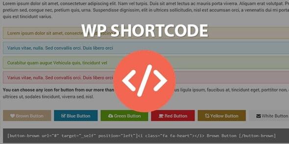 WP Shortcode by MyThemeShop
