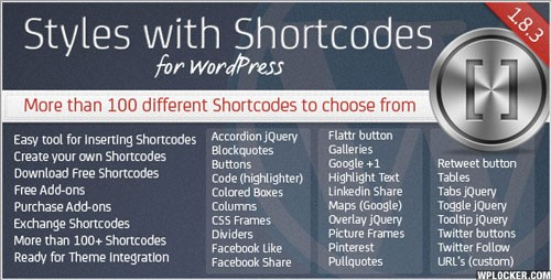Styles with Shortcodes