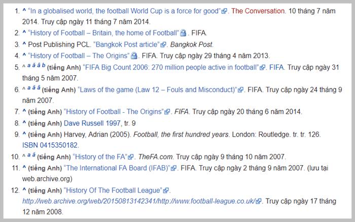 wikipedia tham khảo