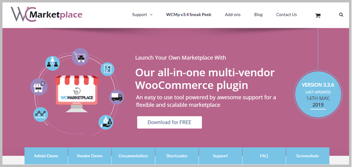 WC Marketplace plugin