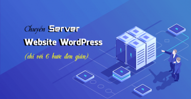 chuyển server website WordPress