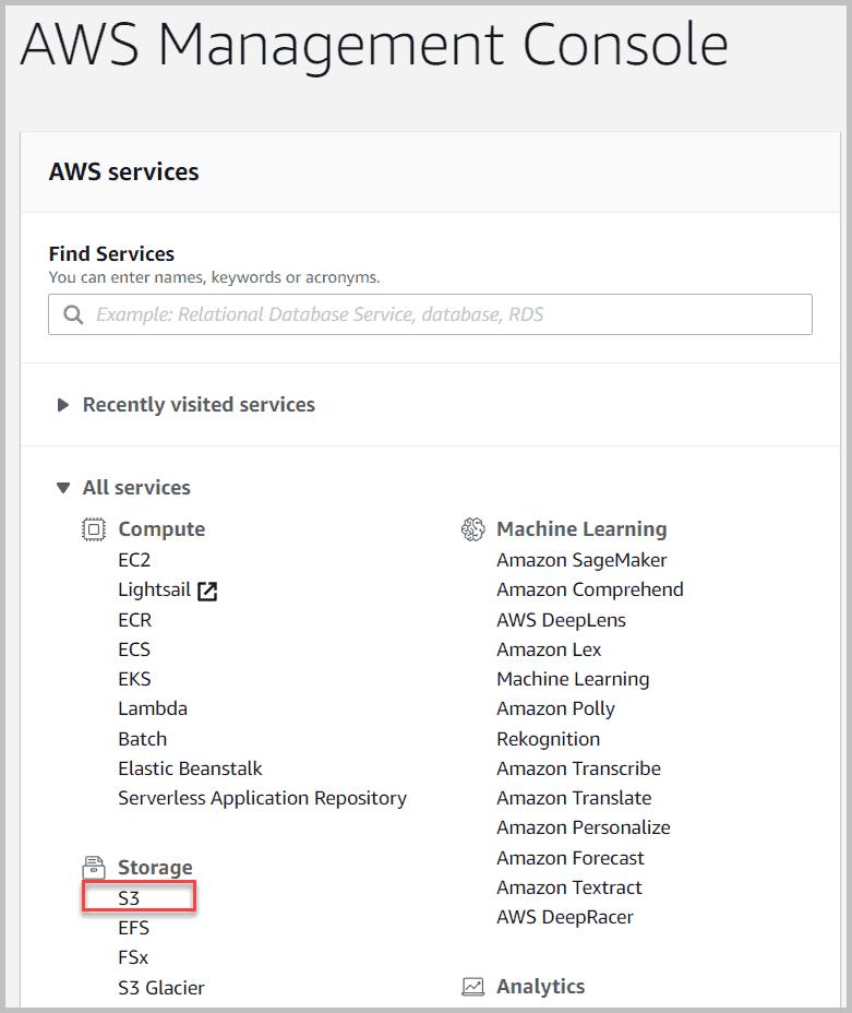AWS-Management-Console