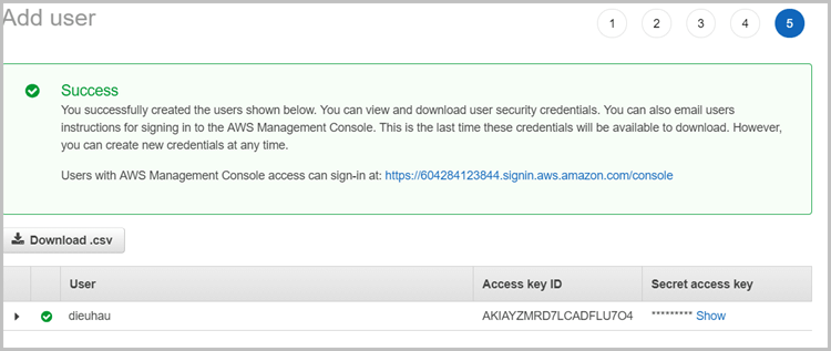 IAM-Access-key-ID-secret-access-key