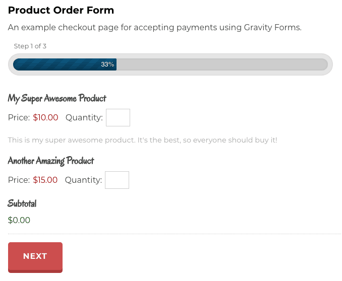 product-order-gravity-form