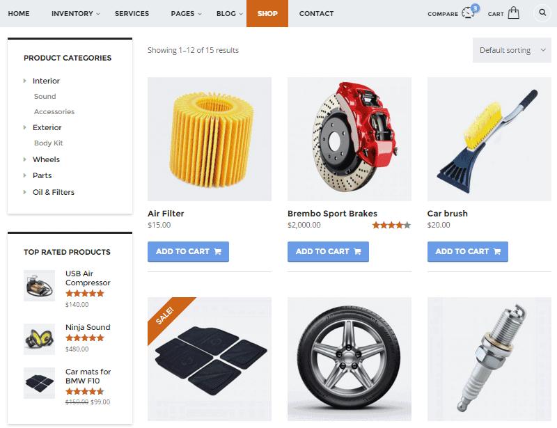 Motors-woocommerce