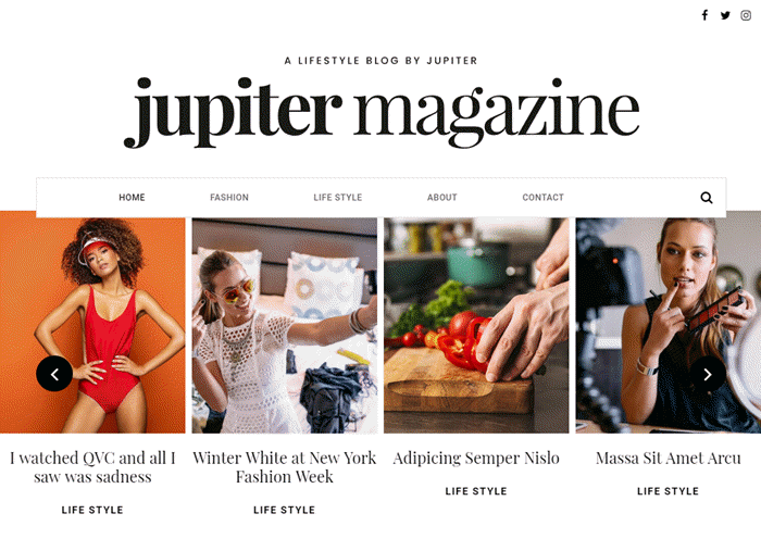 jupiterX-theme-magazine-template
