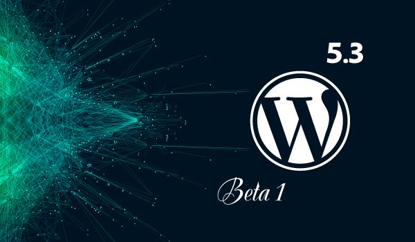 WordPress-5-3-beta-1