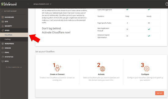 cloudflare-siteground-new-dashboard