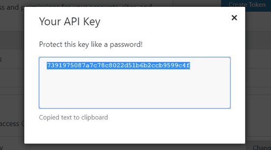 copy-cloudflare-api-key