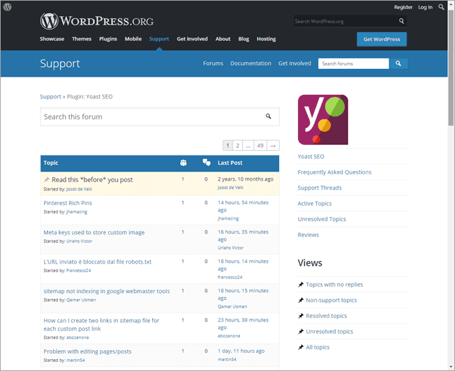 yoast-seo-support-forum