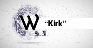 WordPres-5-3-Kirk