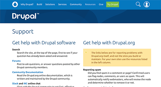 drupal-support