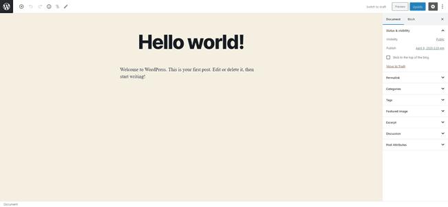 Block-Editor-Full-Screen-Mode
