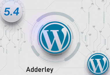 WordPress5.4-Adderley