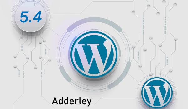 WordPress5.4-Adderley