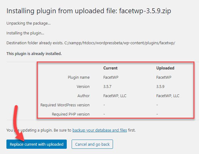 Update-plugin-manually