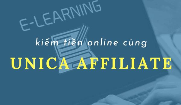 Kiếm tiền online với Unica Affiliate bằng cách quảng bá các nội dung số