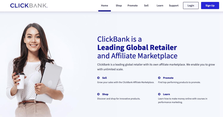 Kiếm tiền online với Clickbank về cơ bản cũng tương tự như các Affiliate Network khác tại Việt Nam.