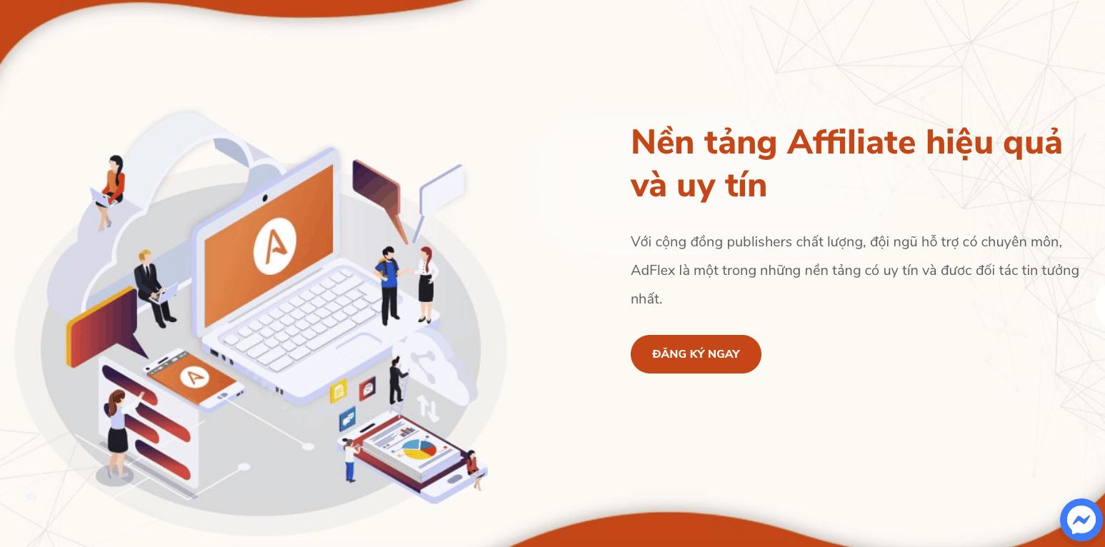Adflex là Affiliate Network tại Việt Nam chuyên về mảng CPA.