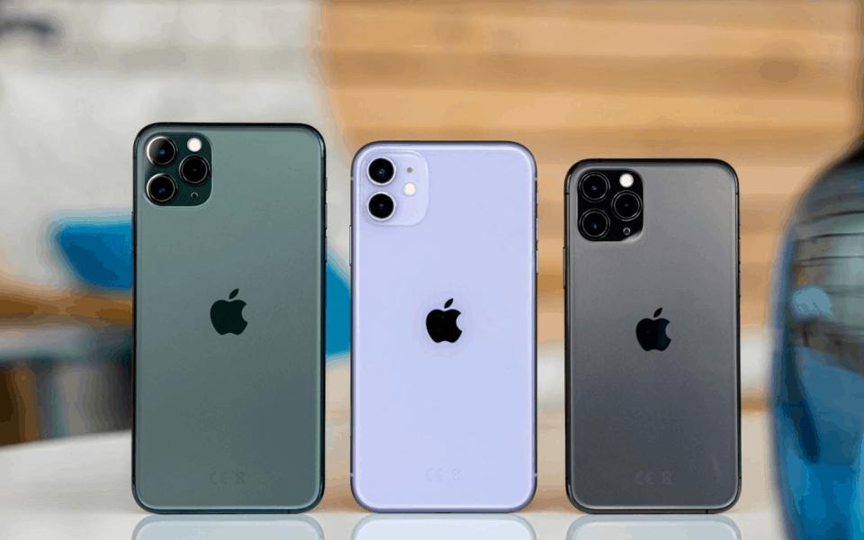iPhone thống trị danh sách top 10 smartphone bán chạy nhất tại Mỹ trong tuần đầu của tháng 9