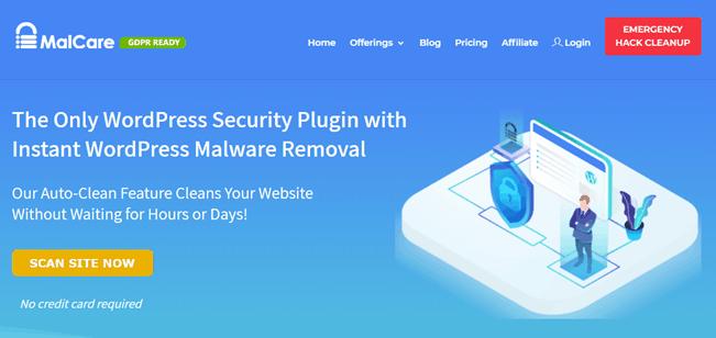 MalCare-website