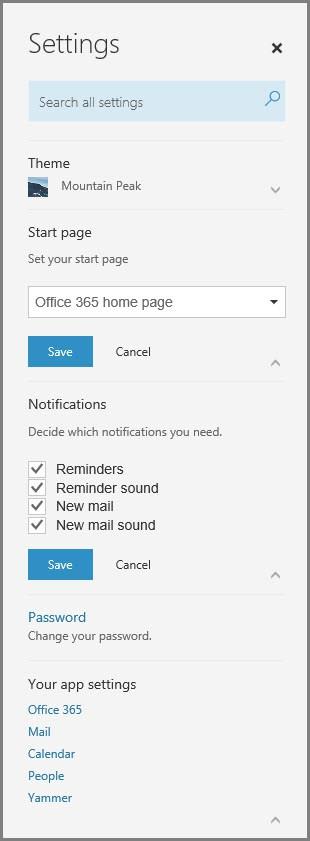 Các cách để cá nhân hóa Microsoft Office 365