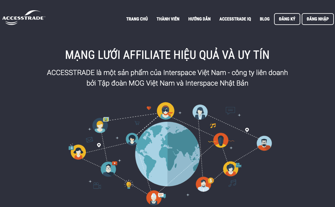 Accesstrade là Affiliate Network chuyên về CPA tại Việt Nam.