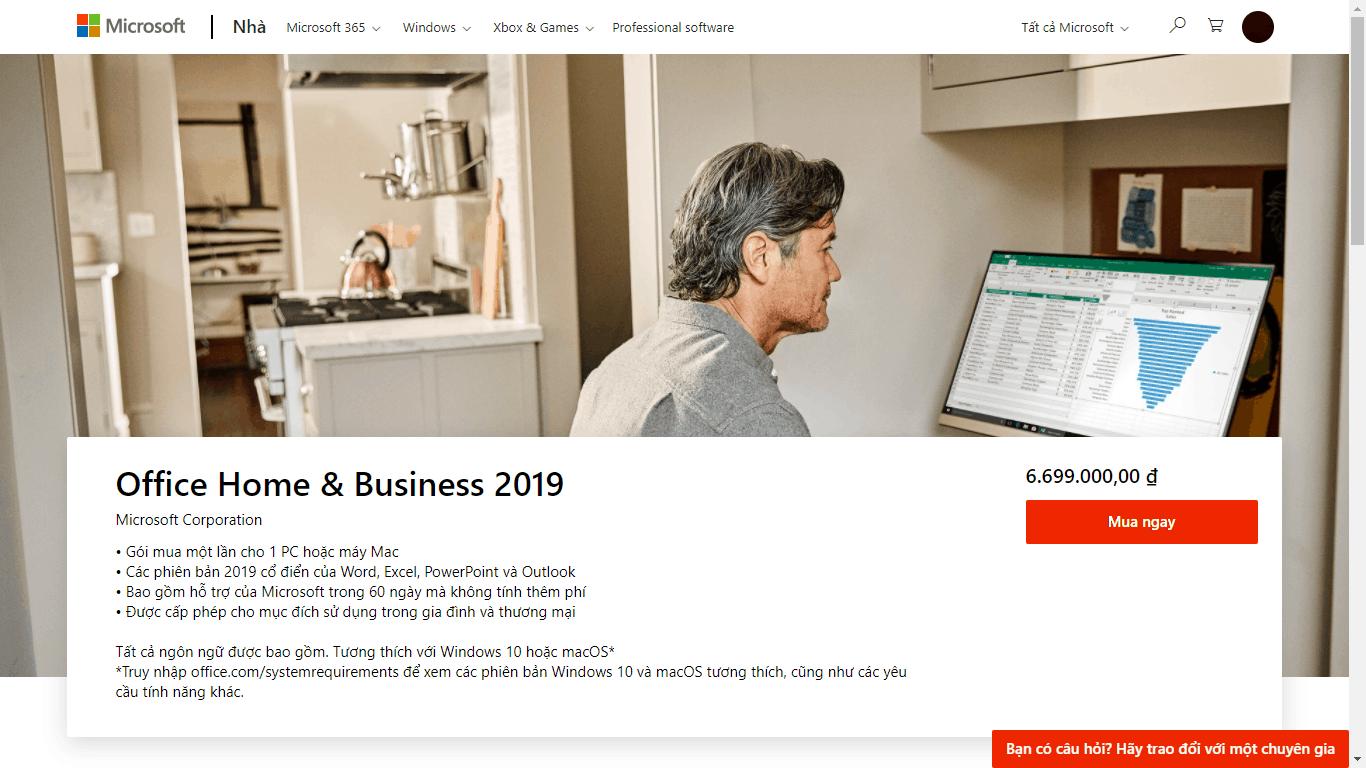 So sánh chi tiết Office 365 và Office 2019: Nên mua phần mềm nào?